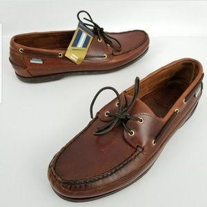 Ex Sebago Slip On Boat Docksides Casual Loafers Sh